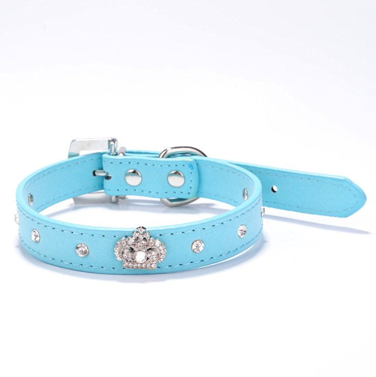 Rhinestone Bow Tie Pet Collar