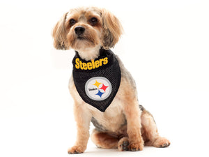 Pittsburgh Steelers Reversible Pet Bandana