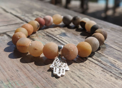 The Hamsa Jupiter Stretch Bracelet