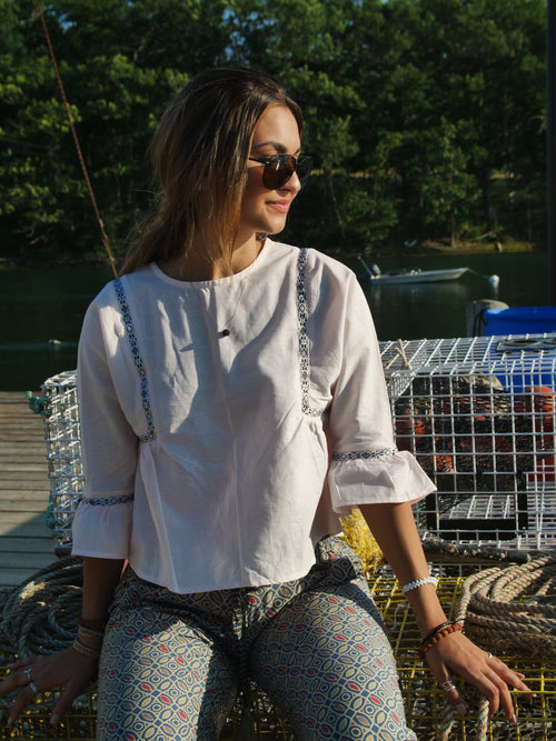The Provence Peasant Top