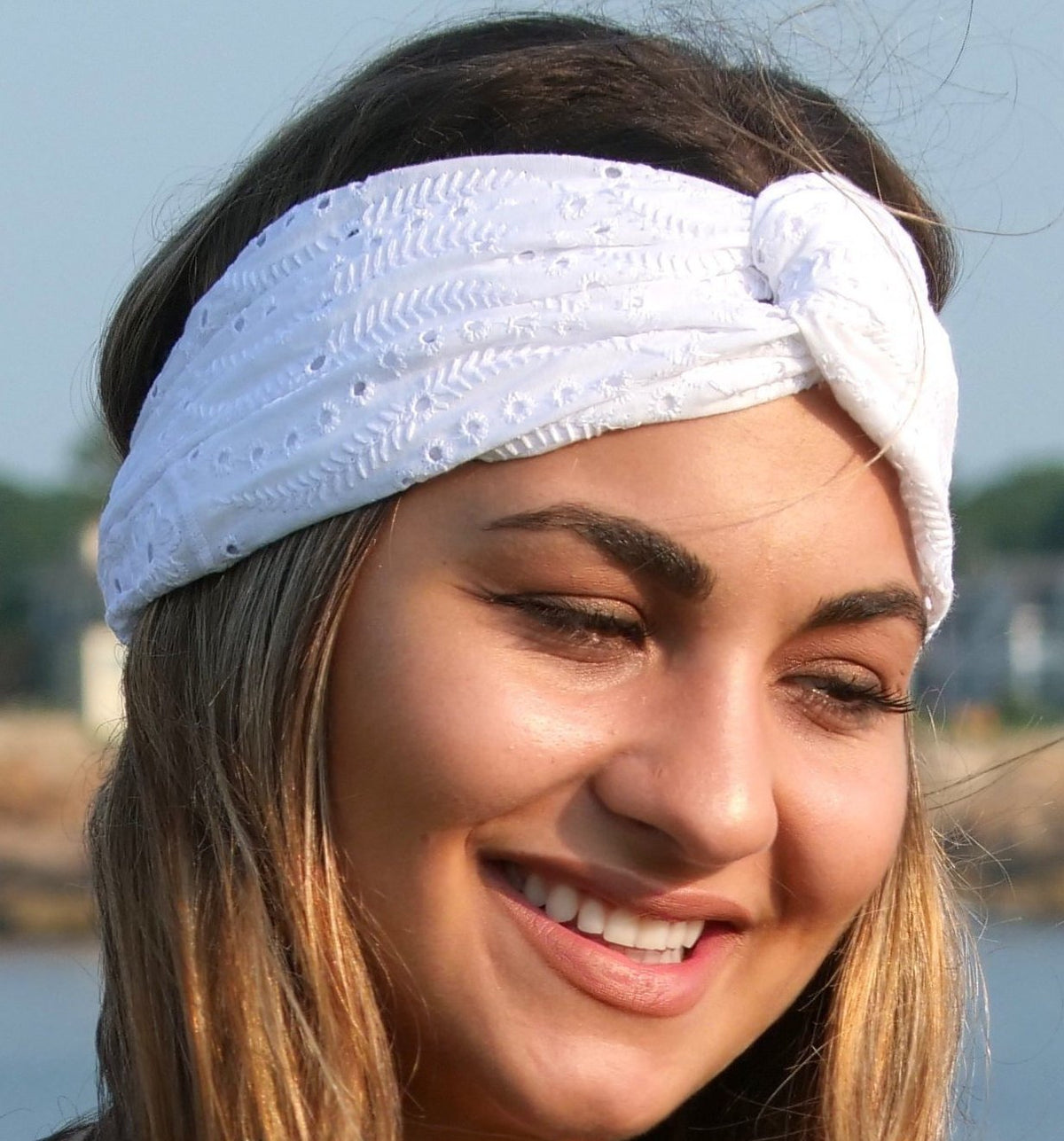 All Points East Apparel Upcycled Embroidered Turban Headbands