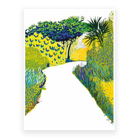 The yellow way, 30x40cm Print