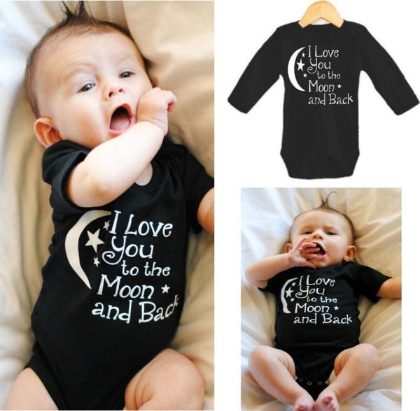 I Love You to The Moon & Back Baby Romper