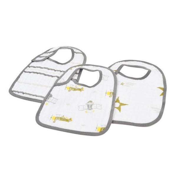 In the Sky Snap Bibs Set of 3 -