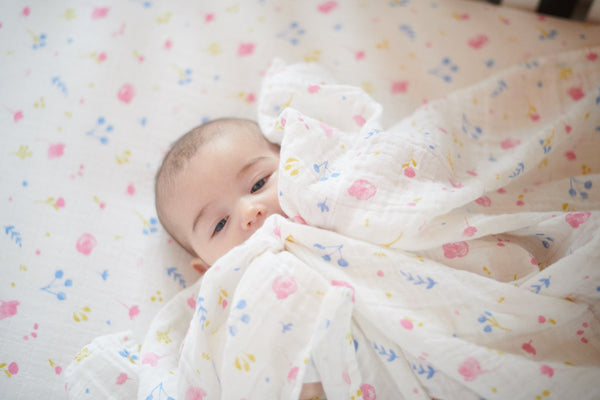 Spring Time Flower Swaddle -
