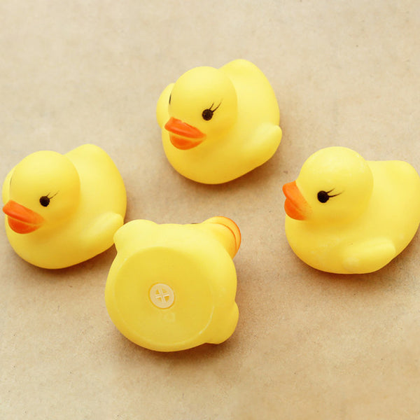 Squeezing Call Rubber Duck Ducky Duckie Baby