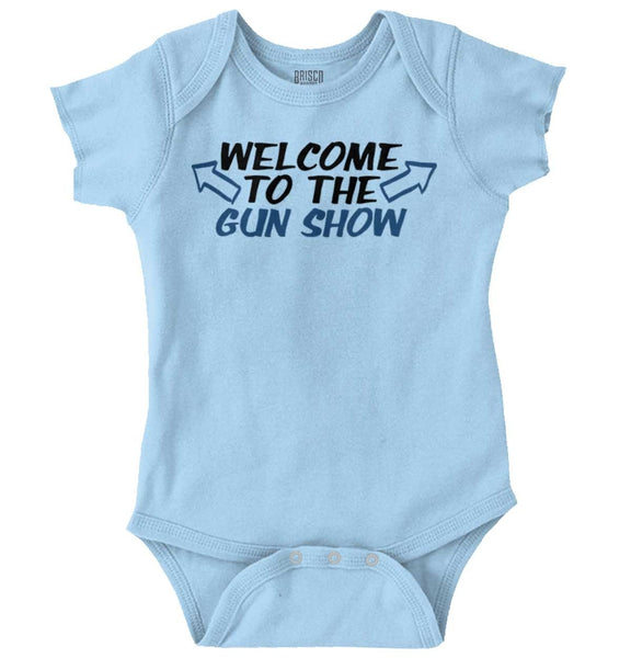 Welcome To The Gun Show Romper Bodysuit