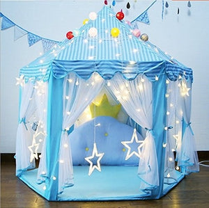 Portable Folding Princess Castle Tent Princess Tent Girls Large Playhouse Kids Castle Play Tent  for Children Indoor and Outdoor