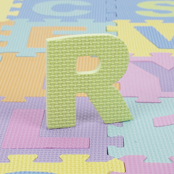36 Pieces Of EVA Foam Puzzle Mats Baby Kids Crawl Play Carpet Letters and Numbers Educational Toy