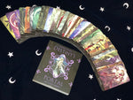 Moon and Stars Velvet Tarot Cloth