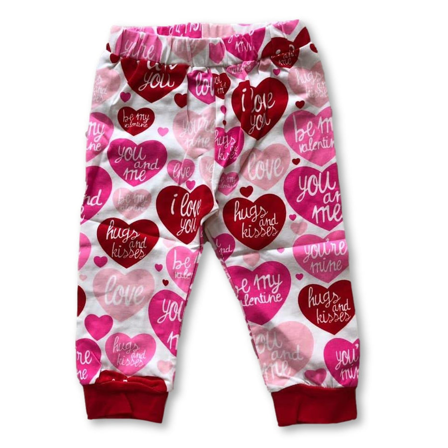 Hearts Slogan Legging
