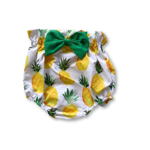 Pineapple Bow Detail Shorties