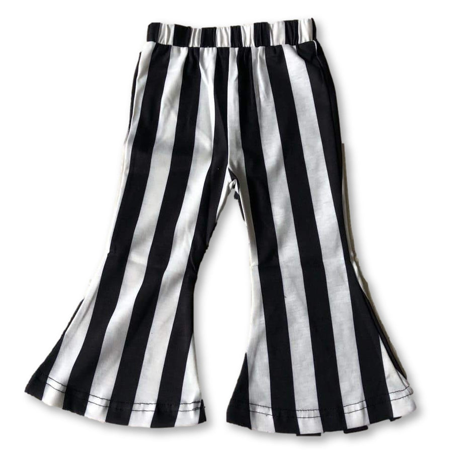 Monochrome Striped Bells
