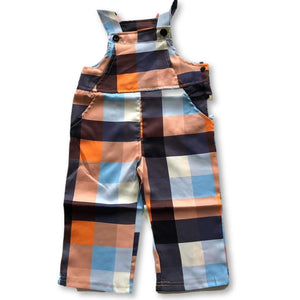 Checkered Statement Overalls