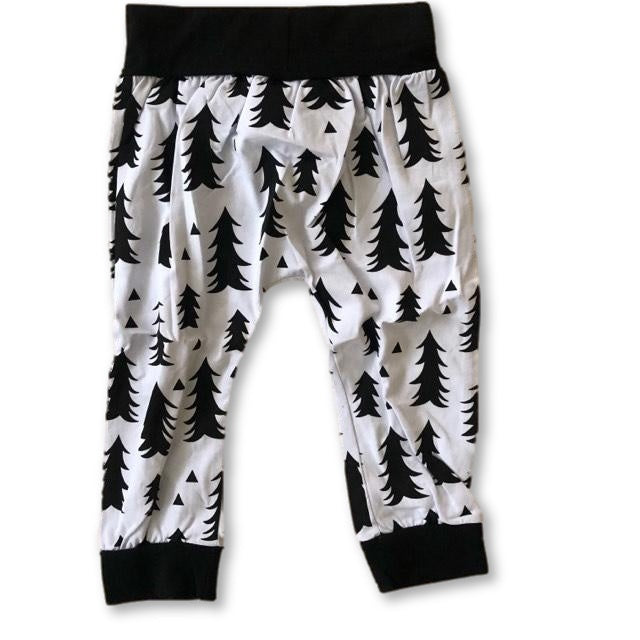 White Fir Harem Pants