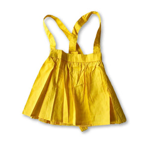 Yellow Pleated Skirtspender