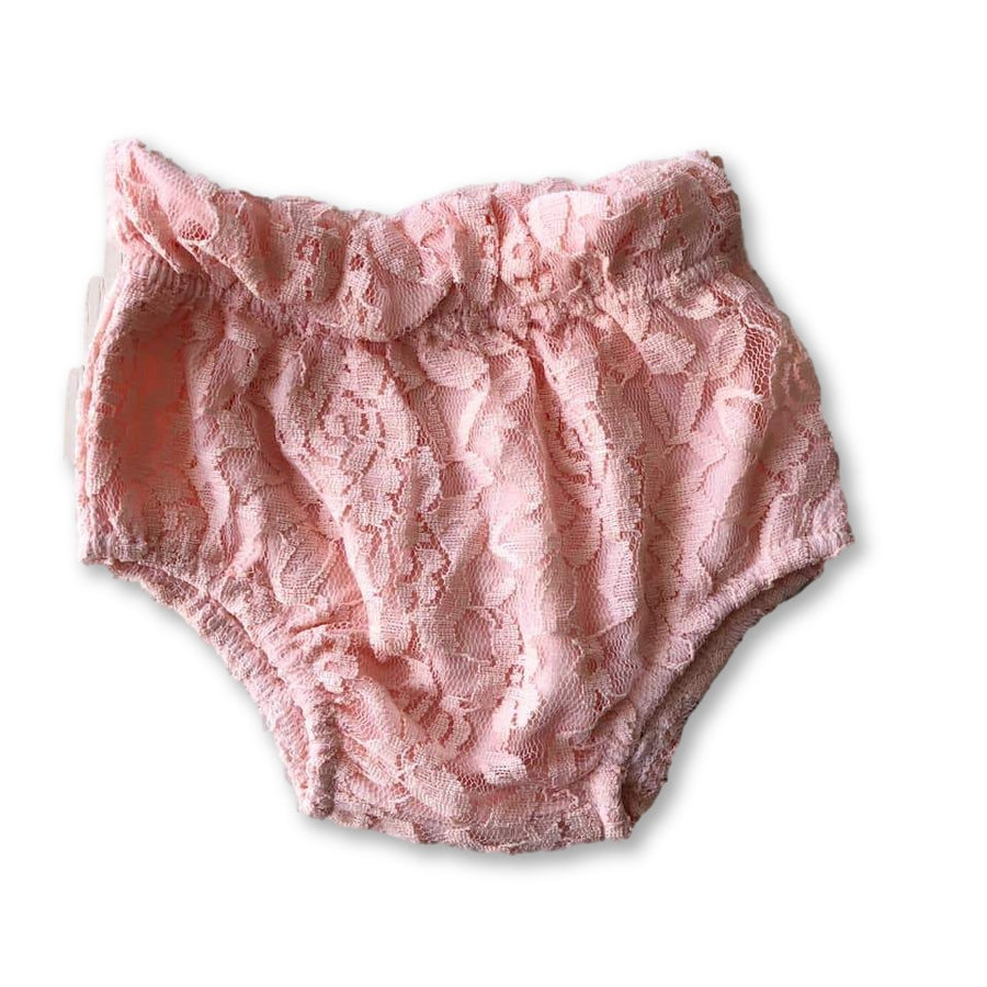 Pink Lace Bloomers