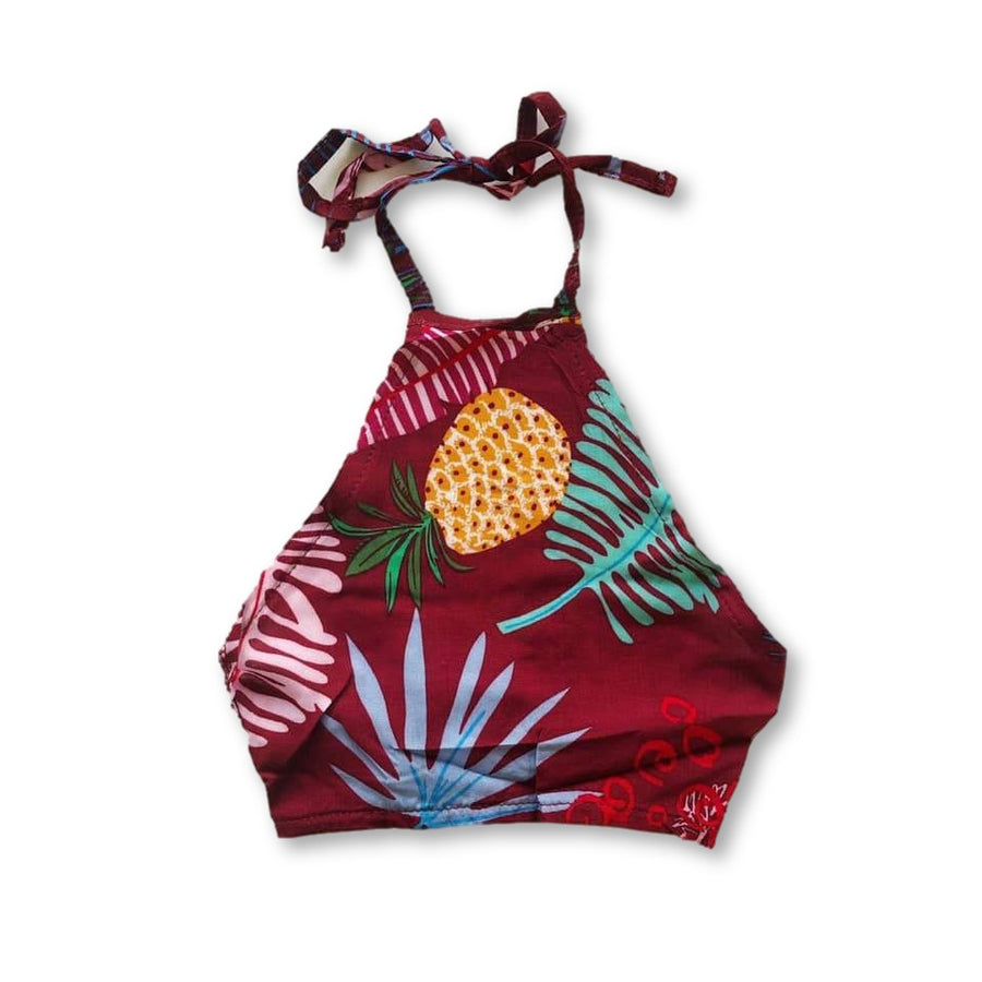 Tropical Halter Top