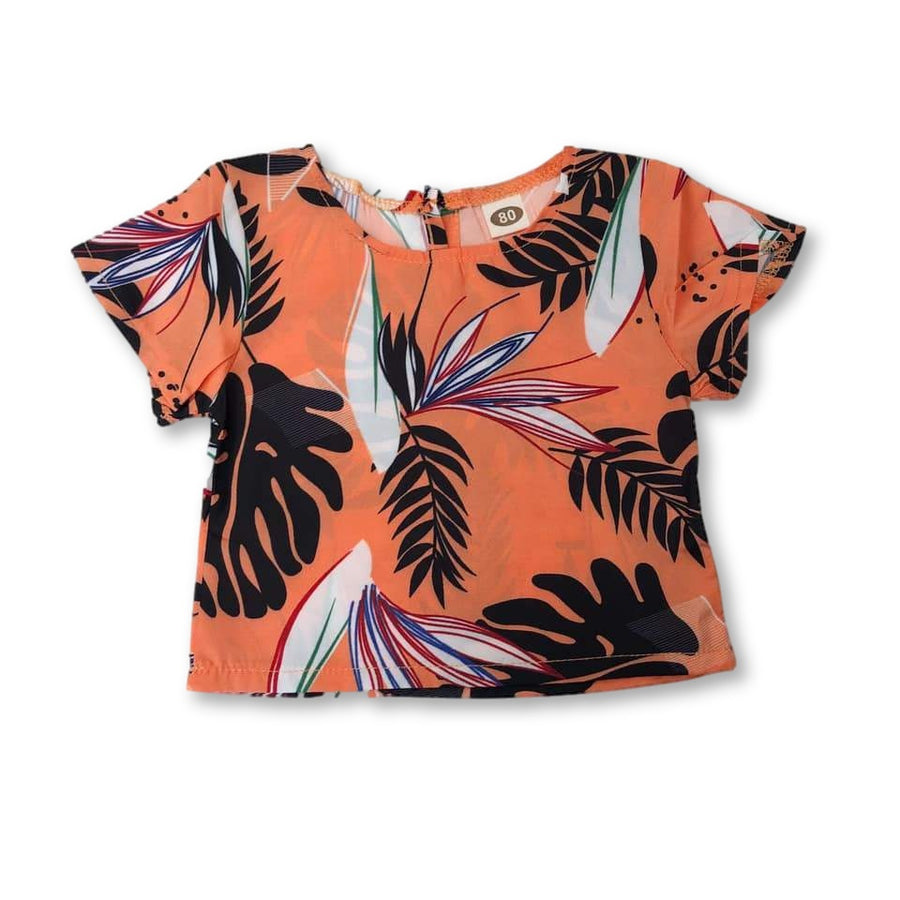 Sunset Tropical Top