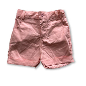 Pink Pocket Detail Shorts