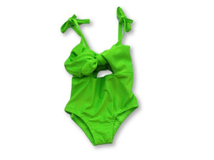 Lime Green Swimsuit