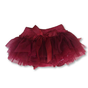 Red Bow Detail Tutu Bloomers