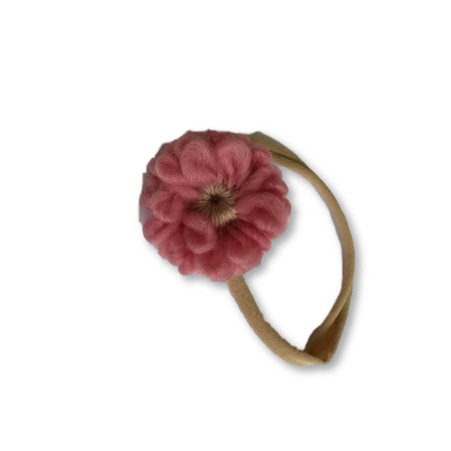 Flower Nylon Headband