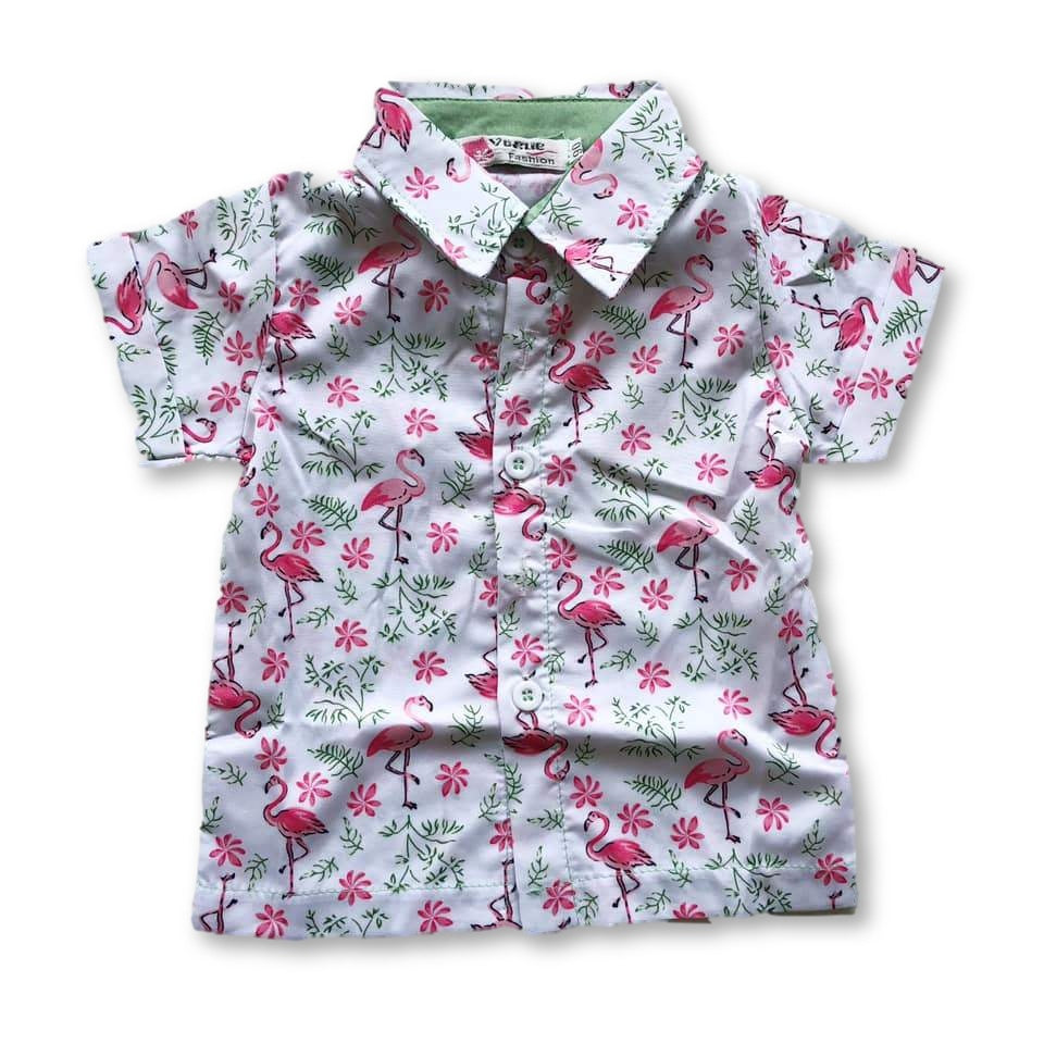 White Flamingo Shirt