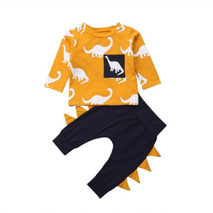 Yellow Dinosaur Outfit