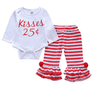 Kisses Striped Outfit