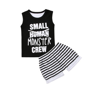 Small Monster Crew set | NB to 18M