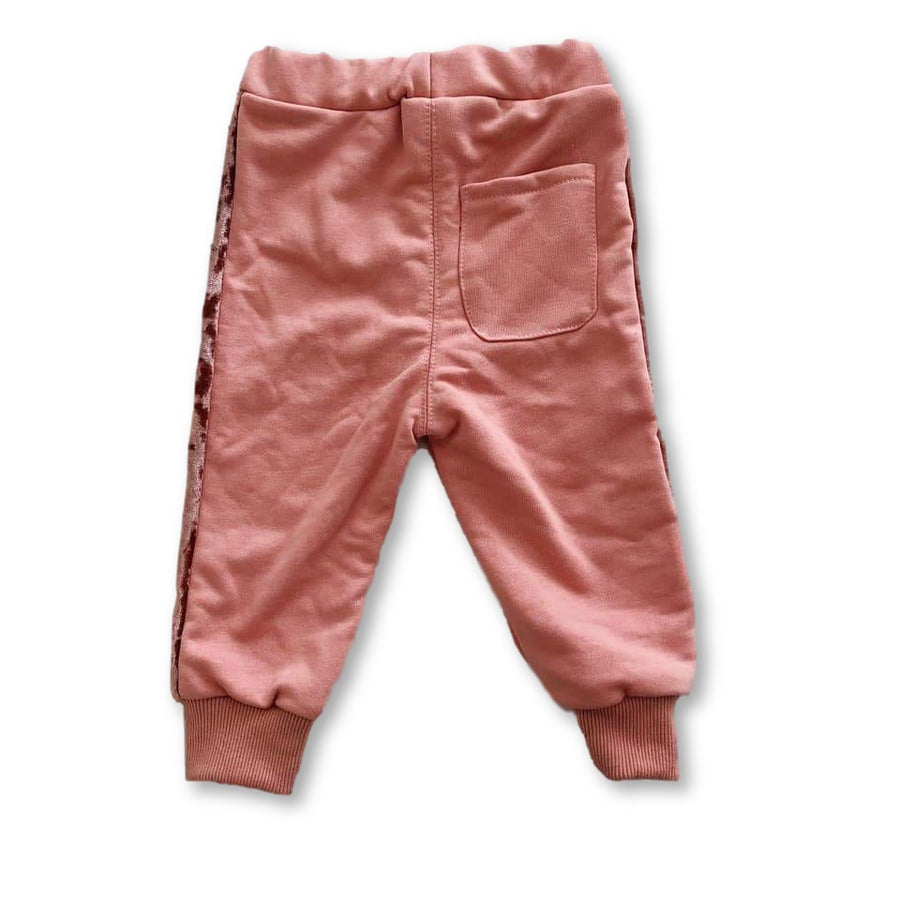 Pink Velvet Touch Joggers