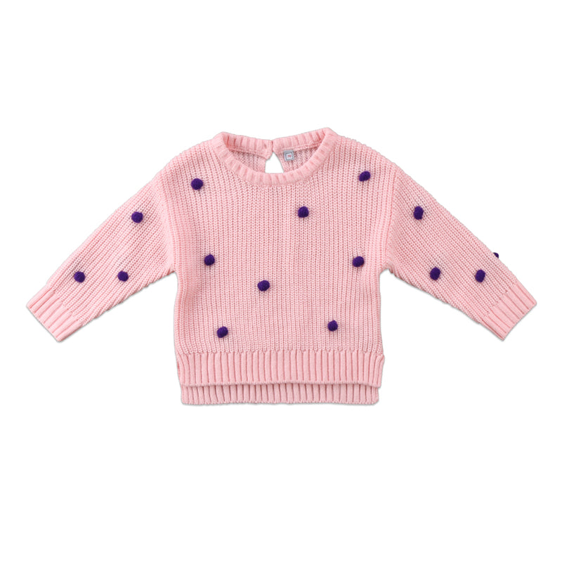 Knit sweater top | NB to 18M