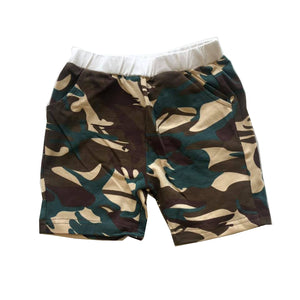 Camo Pocket Detail Shorts