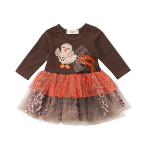 Turkey tutu dress
