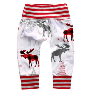 Mommy & Me Reindeer Pants