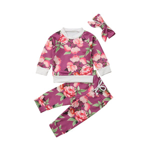 Lesley Floral Outfit