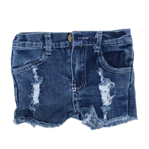Essential Distressed Denim Shorts