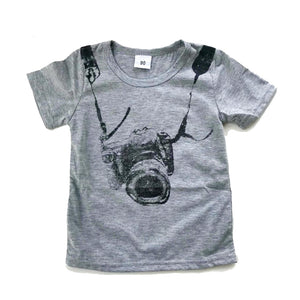 Gray Camera Ready Graphic Tee