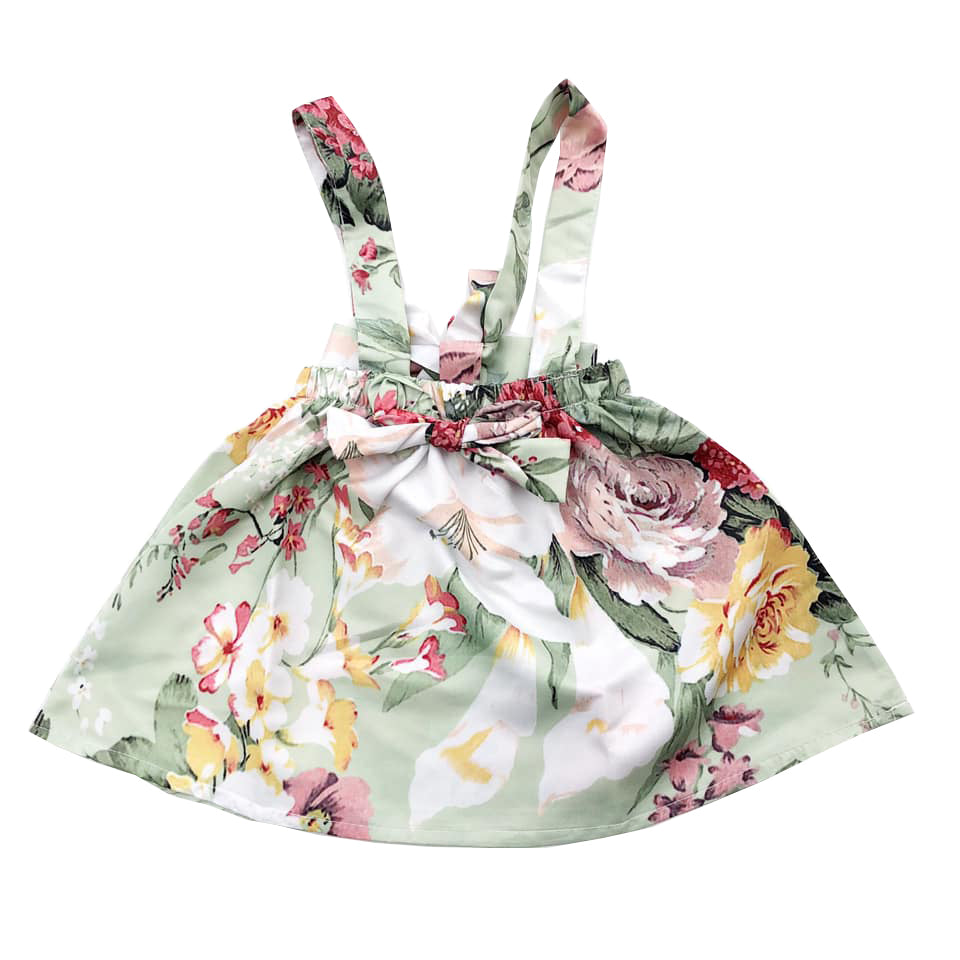 Floral Bow Detail Skirtspender