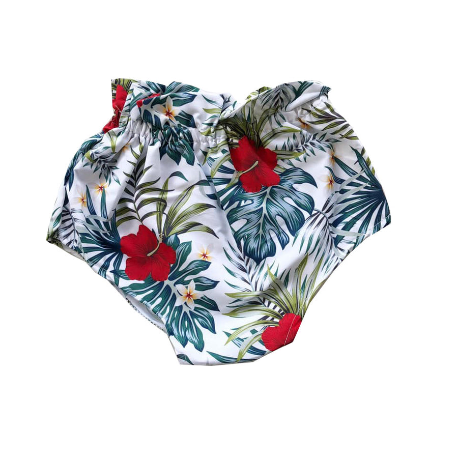 Hibiscus Paperbag Shorties