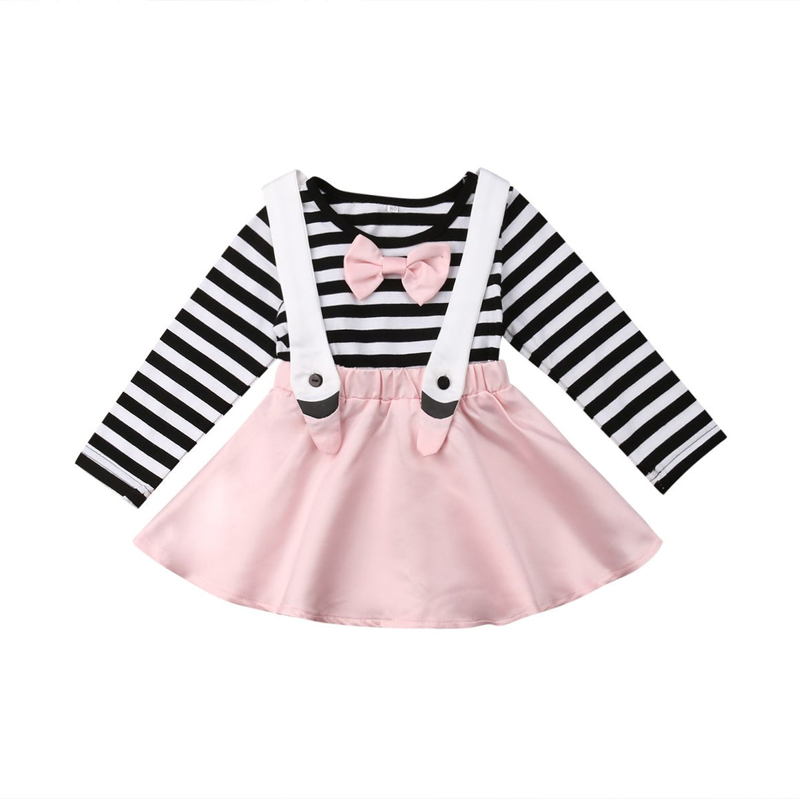 Striped Swan One Piece Skirtspender