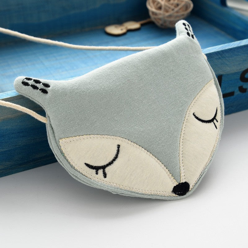 Sleeping fox shoulder bag