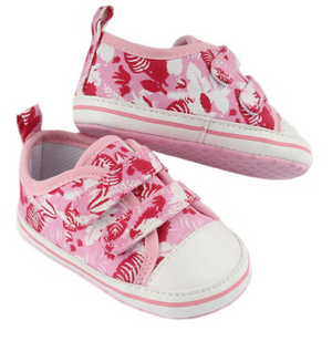 Pink Tropical Shoes