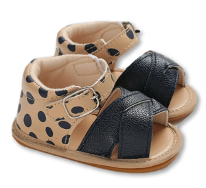 Dotted Baby Sandals