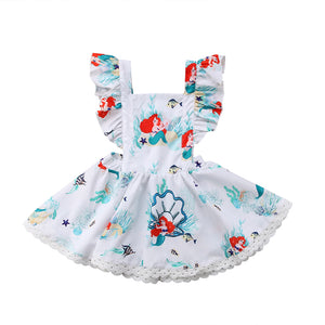 Little Mermaid Ariel Sundress