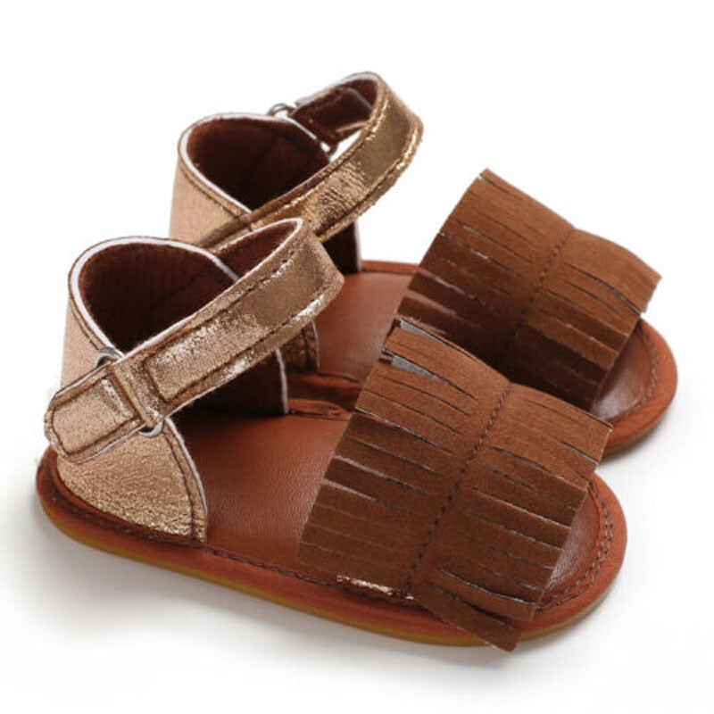 Boho Babe Sandals Brown