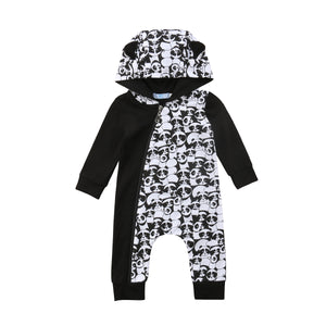 Panda hooded jumper