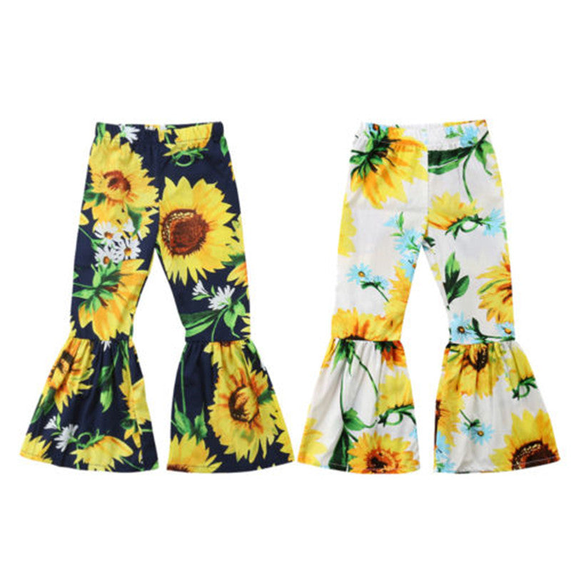 Sunflower flare pants