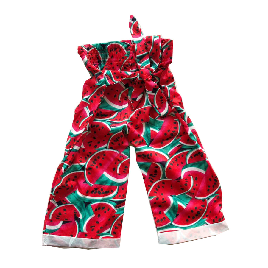 Watermelon Paperbag Knot tie Pants